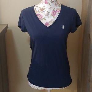 Polo Ralph Lauren blue short sleeve tshirt. Medium